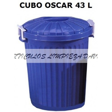CUBO OSCAR CON TAPA 23L