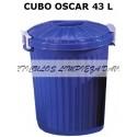 CUBO OSCAR CON TAPA 43L