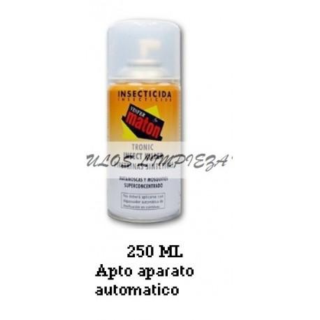 INSECTICIDA MATON TRONIC SUPERCONCENTRADO MOSCAS Y MOSQUITOS 250ML