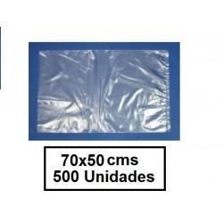 BOLSAS TRANSPARENTES DE 70*50 CM 500U