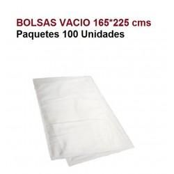 BOLSAS VACIO 165*225 P.100/U TRES