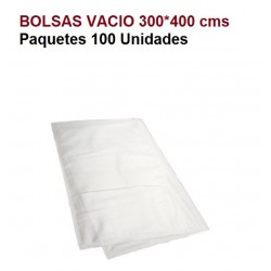 BOLSAS VACIO 300*400 PAQ 100U