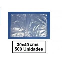 BOLSAS TRANSPARENTES 30*40 500U
