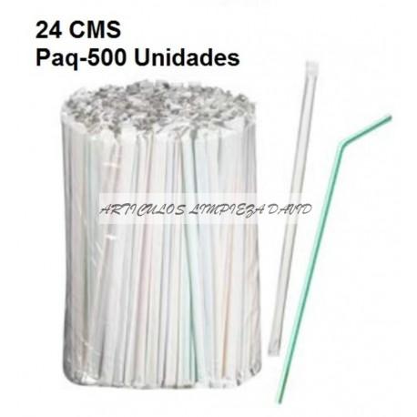CAÑA FLEXIBLE  ENV.INDIVIDUAL 24 CMS 500U