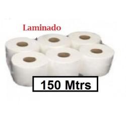PAPEL  SECAMANOS CHIMINI 150M 2/H 1UNID (PAQUETES 6 UNID)