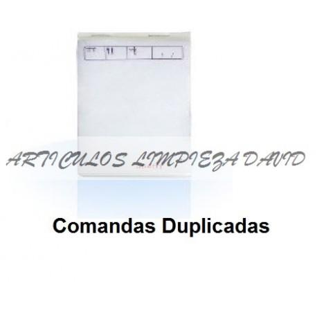 BLOC COMANDAS DUPLICADOS PAQUETES 10UNID.