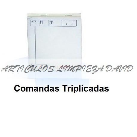 BLOC COMANDAS TRIPLICADOS PAQUETES 10 UNID.