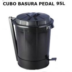 CUBO BASURA INDUSTRIAL GOLIAT CON PEDAL 95L