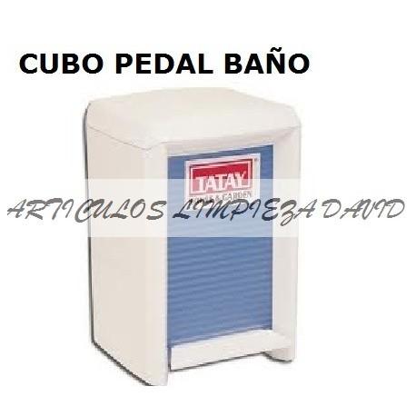 CUBO TATAY PEDAL WC BLANCO