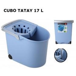 CUBO RECTANGULAR RUEDAS TATAY 17L