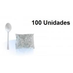 CUBIERTOS CUCHARILLA POSTRE PAQ 100U