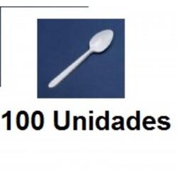 CUBIERTOS CUCHARILLAS CAFÉ PAQ 100U