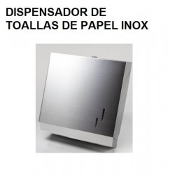 DISPENSADOR DE TOALLETAS WC EN ACERO INOXIDABLE