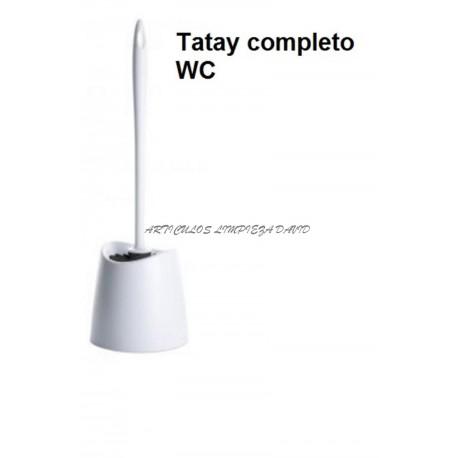 ESCOBILLERO COMPLETO WC STANDARD BLANCA