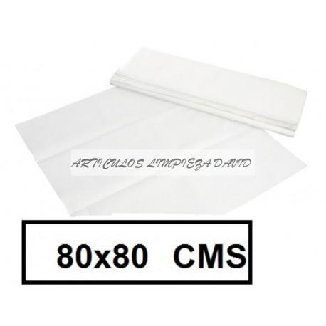 MANTELES CAJA 80*80 500U ECO 111