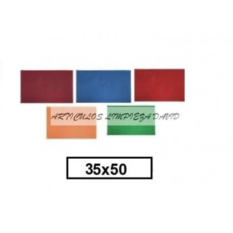 MANTELITOS 35*50 COLOR 1000U TST 50GR