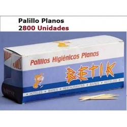 PALILLO DP VAGON PLANO 2800U
