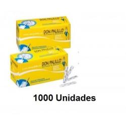 PALILLO D.P ENVUELTO PAPEL TORNEADO 1000U