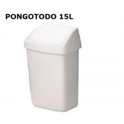 PONGOTODO  VAIVEN RUBBERMAID 15L