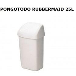 PONGOTODO  VAIVEN RUBBERMAID 25L