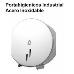 PORTA  HIGIENICOS INOX INDUSTRIAL