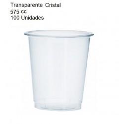 VASO CRISTAL 575 CC 100 UNIDADES