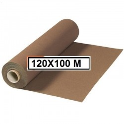 MANTEL ESTOLA POLIPROPILENO EN ROLLO 120*100 MARRON 50 GR