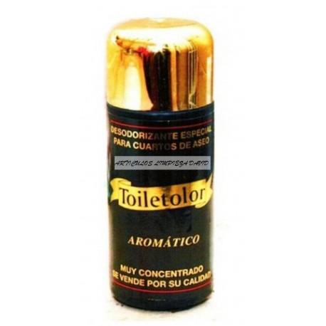 AMBIENTADOR BAÑOS CONCENTRADO TOILETOLOR AROMATICO 180 ml