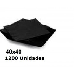SERVILLETAS CAJA PP 40*40 2C COLOR 1200U