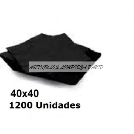 SERVILLETAS CAJA PP 40*40 2C COLOR 1200U