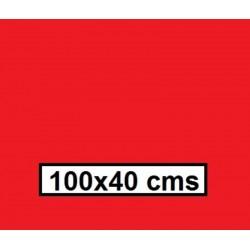 CAMINO MESA ESTOLAS POLIPROPILENO TST 100*40  ROJO 500U