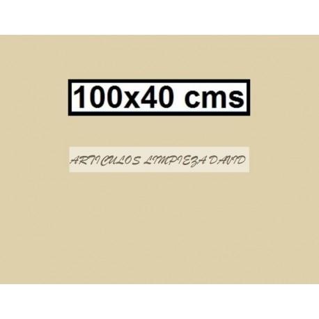 CAMINO MESA ESTOLAS POLIPROPILENO TST 100*40 BEIG 500U