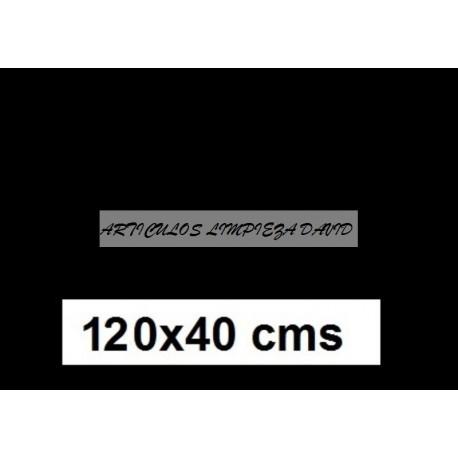 CAMINO MESA ESTOLAS POLIPROPILENO TST 120*40 NEGRO 500 u