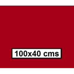 CAMINO MESA  ESTOLAS POLIPROPILENO TST 100*40 BURDEOS 500U