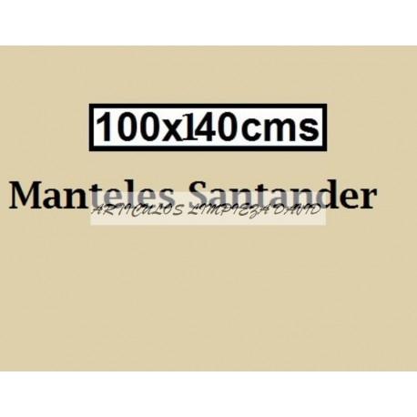 MANTEL ESTOLAS POLIPROPILENO 140*100 BEIGE