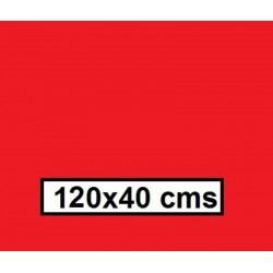 CAMINO MESA ESTOLAS  POLIPROPILENO TST 120*40 ROJO  500U