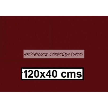 CAMINO MESA ESTOLAS POLIPROPILENO TST  120*40 MARRON 500U
