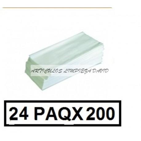 TOALLETAS WC Z-Z 1C P200 CAJA 24P