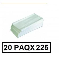 TOALLETAS WC Z-Z 2C  P225 CAJA 20P