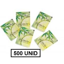 TOALLITAS LIMON 500U