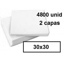 SERVILLETAS CAJA 30*30 2C BLCO 4800U 215