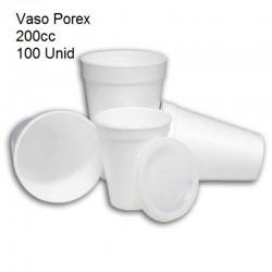 VASO POREX 200CC 100U