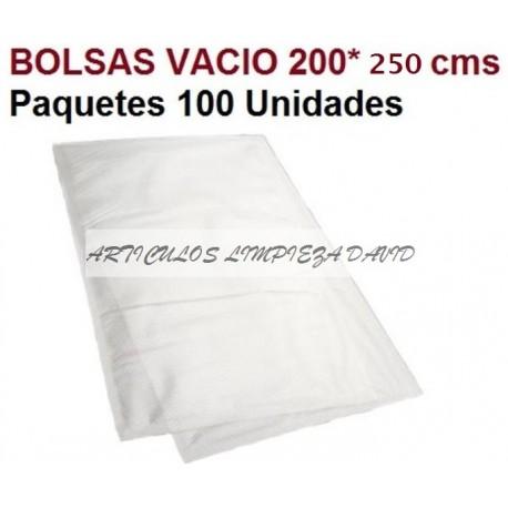 BOLSA VACIO 200*250 100UNID 3 SOLD