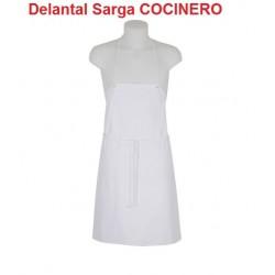 DELANTAL  SARGA COCINERO 1 U