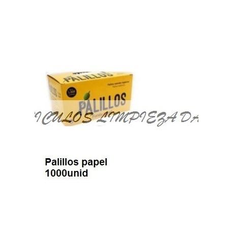 PALILLO REDONDO FUNDA  PAPEL 1000UNID