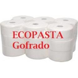 HIGIENICO IND. ECOPASTA 18UNID GOFRADO