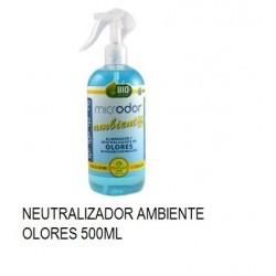 NEUTRALIZADOR OLORES MICRODOR AMBIENT PETS 500ML