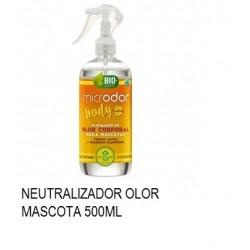 NEUTRALIZADOR OLORES MICRODOR BODY MASCOTA 500ML