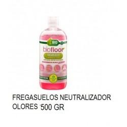 FREGASUELOS BIOFLOOR MASCOTAS BOTELLA 500GR