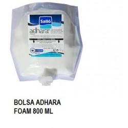 GEL ADHARA FOAM BOLSAS 800 ML  1 U CAJAS 6 UNID
